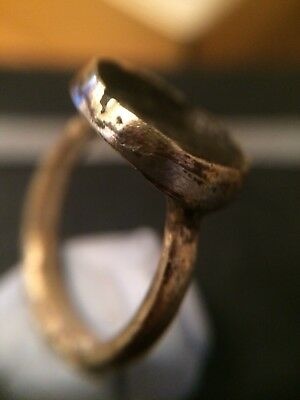 medieval ring with stone