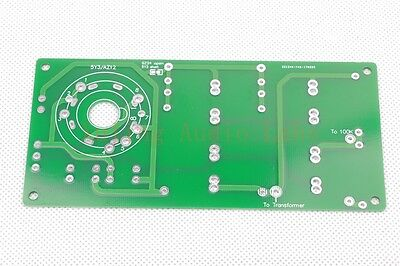 1piece 5Y3 5AR4 AZ12 tube DIY Rectifier bare PCB For Dynaco 6V6 or other PP amp