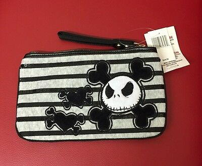 Disney Parks Jack Skellington Wristlet Clutch [DL]
