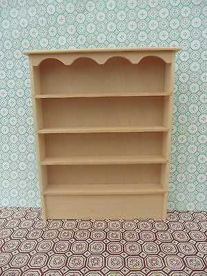 1/12 Scale Handmade Shelf For Miniature  Shop,  Kitchen, Dollshouse Or Roombox