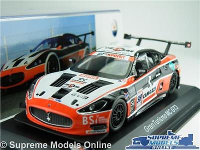 Maserati Granturismo Mc Gt3 Car Model 1:43 Size Ixo Altaya Touring Coupe 2011 Tz