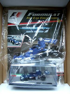 Jackie Stewart Tyrrell 006 1973 Wc 1/43 F1 Collection Issue 11