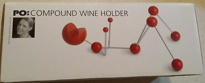 Funky Wine Bottle Holder - Cute Reclining Person Design - Brand New in Box