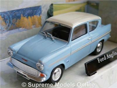 Ford Anglia Model Car Blue 1:43 Scale Like Harry Potter Film Rowling Cararama T4