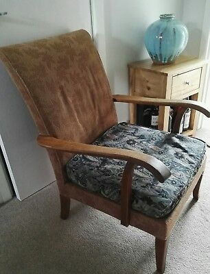 Parker Knoll 717 Fireside Chair reupholstery project