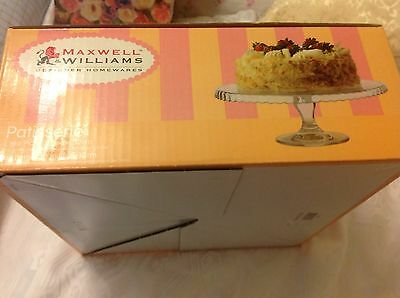Maxwell And Williams Cake Stand New