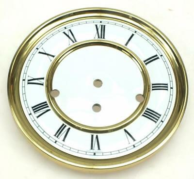 Kieninger or Hermle Clock White Enamel Vienna Wall 8 Day Musical Dial 8 Inch
