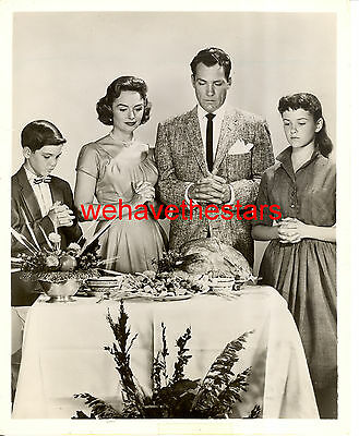 Vintage Donna Reed Paul Petersen THANKSGIVING '59 TV Publicity Portrait