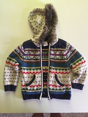 Hanna Andersson Nordic Sweater, Size 90, 3T