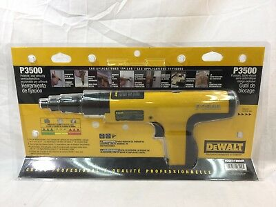 Dewalt P3500 Semi-Automatic Powder Actuated Fastening Tool (DDF212035P)