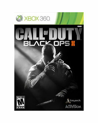 Call of Duty: Black Ops II with Zombies Microsoft Xbox 360, 2012 Factory Sealed