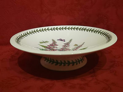 "Portmeirion Botanic Garden 12"" Footed Cake Stand / Comport - Foxglove"