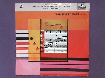 "Your Kind Of Music - Tito Gobbi - The Glass Mountain (7"" single) p/sleeve 7P 240"