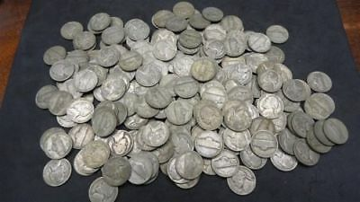1942-1945 Silver War Nickels Lot 1 Coin - Free Delivery
