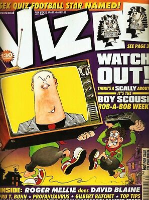 VIZ Comic Issue 130 2003 - Roger Mellie,Radiohead,Boy Scouse, Mrs Brady