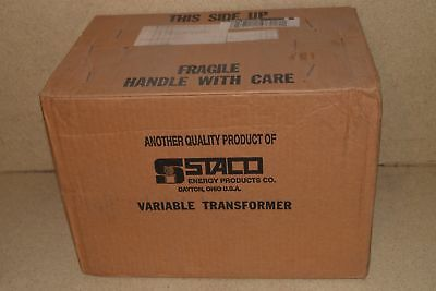 == Staco Energy Products Inc Variable Autotransformer Type 2520 - New (E4)