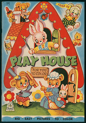 """UNCOLORED """"Play House"""" #3461 Merrill 1944 (6000)"""