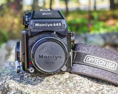Mamiya 645 1000s With 80mm Lens and Roll Of Film!