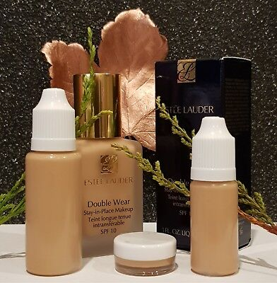 Estee Lauder Double Wear Stay-in-Place Foundation VARIOUS SHADES  2ml,10ml,20ml