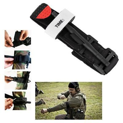 Black Tourniquet Buckle First Aid Medical Tool For Emergency Injury WT