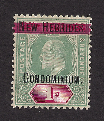 NEW HEBRIDES SC 9 Mounted Mint MM H CV $27