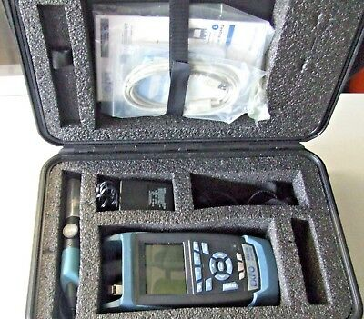 EXFO AXS 100 OTDR with hardcover carrying case and inspection probe