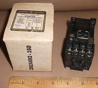 GE Magnetic Contactor CR4CAA New in box cr4 control