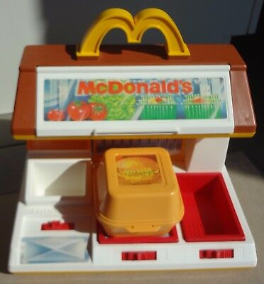 RARE Vintage Fisher Price Fun with Food McDonald's Cooking Center