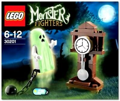 Lego 30201 Monster Fighters Haunted Halloween Ghost (Glows) & Grandfather Clock