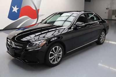 2015 Mercedes-Benz C-Class Base Sedan 4-Door 2015 MERCEDES-BENZ C300 SPORT NAVIGATION REAR CAM 28K #053008 Texas Direct Auto
