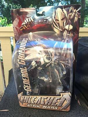 2005 Star Wars unleashed General Grievous MIB Collectable collector figure