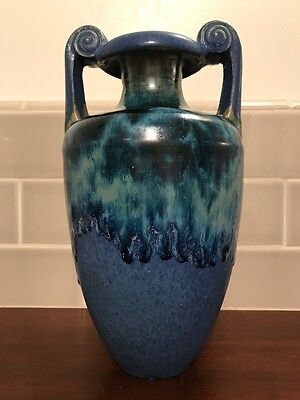 Fulper Large Arts & Crafts / Deco Vase / Oil Jar / Heavy