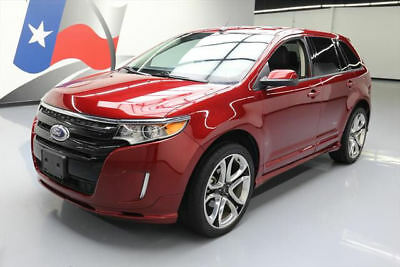 2013 Ford Edge Sport Sport Utility 4-Door 2013 FORD EDGE SPORT HTD LEATHER NAV REAR CAM 22'S 34K #B71750 Texas Direct Auto