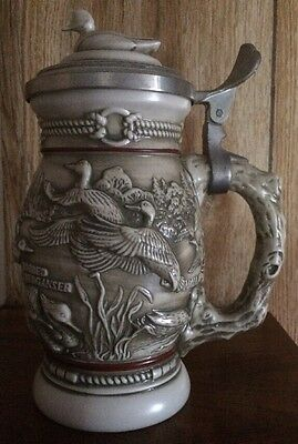 Ducks Of The American Wilderness Stein - Avon - 1988