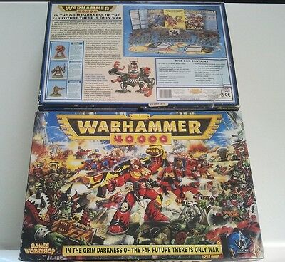 Warhammer 40k 2nd Edition Starter Set 1993 - 100% Complete - 40000 Second