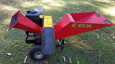 Cox Chipper Shredder Mulcher 5.5hp IC Briggs Stratton Engine model GR7201