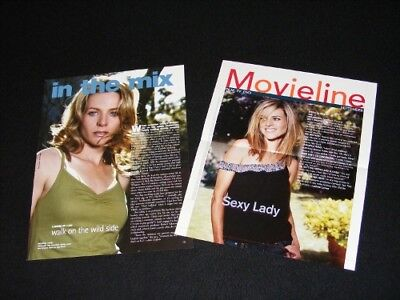 JESSALYN GILSIG magazine clippings
