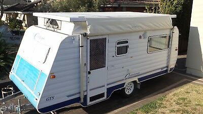 1999 Compass GTS Caravan 15ft 6inch Pop Top