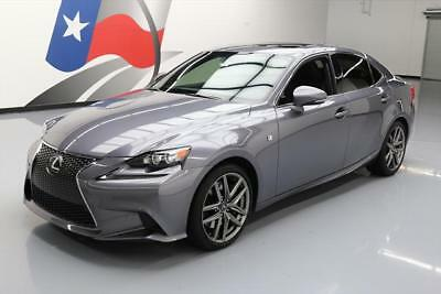 2015 Lexus IS Base Sedan 4-Door 2015 LEXUS IS350 F-SPORT SUNROOF NAV CLIMATE SEATS 19K #021436 Texas Direct Auto