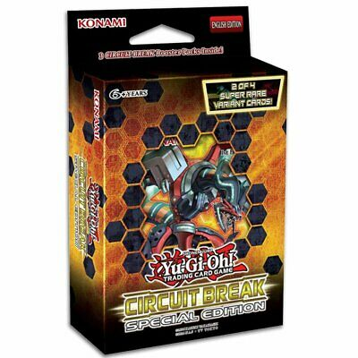 PREORDER YU-GI-OH! TCG Circuit Break Special Edition Deck