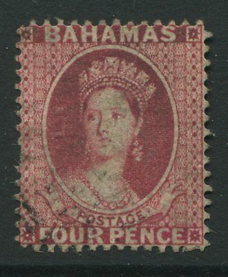 Bahamas QV 1863 4d rose used
