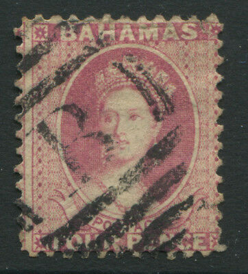 Bahamas QV 1882 4d rose used