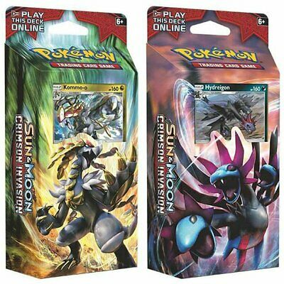 POKEMON TCG Sun & Moon Crimson Invasion Theme Deck - Guzzlord & Nihilego