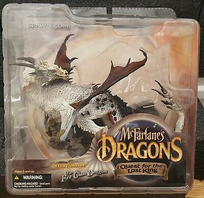 McFarlane Dragons Quest For The Lost King Series 1: Fire Dragon Clan Figure