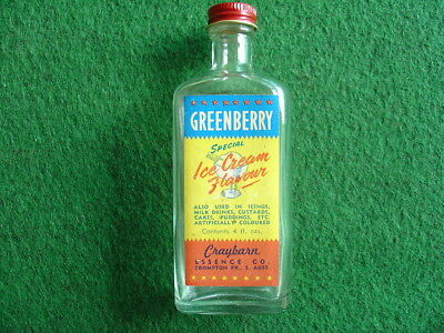 1960's Craybarn Essence Bottle.Australian/Grocery.