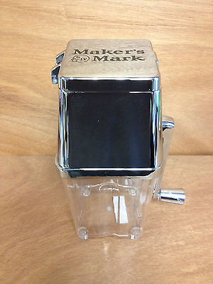 Maker's Mark Retro Ice Crusher ~ Portable ~ Great for Beach ~ NEW / NOS & F/Ship
