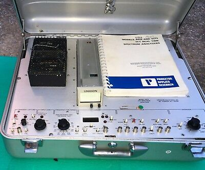 Unigon 4512 ( U512 ) Fft Real Time Spectrum Analyzer In Case ~ Great Performance