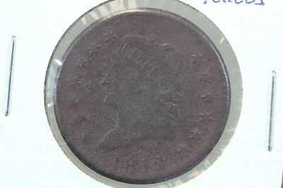 1812 Large Cent G Porous Surface