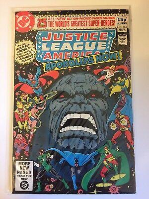 Justice League Of America #184 DC Comics Apokolips Now!