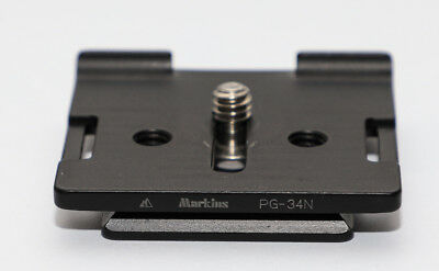 Markins PG-34N Camera Plate Quick Release Plate for Nikon Canon and others